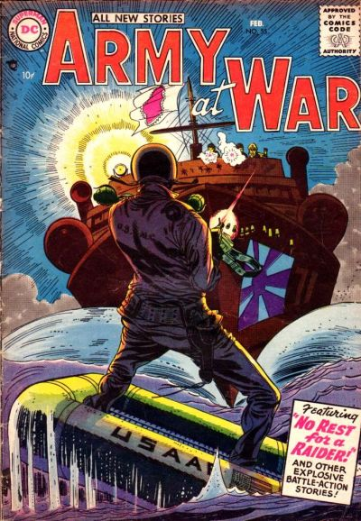 Cover for Our Army at War (DC, 1952 series) #55