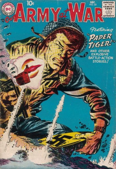 Cover for Our Army at War (DC, 1952 series) #65
