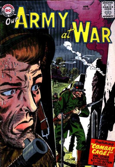 Cover for Our Army at War (DC, 1952 series) #69