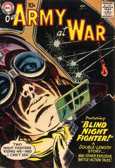 Cover for Our Army at War (DC, 1952 series) #75