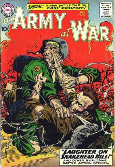 Cover for Our Army at War (DC, 1952 series) #84
