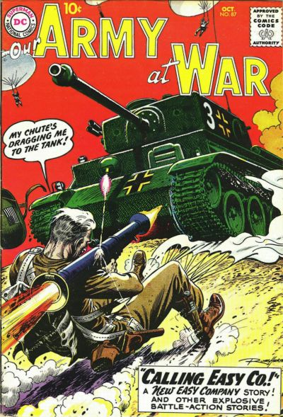 Cover for Our Army at War (DC, 1952 series) #87