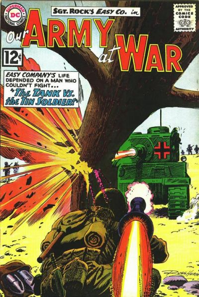 Cover for Our Army at War (DC, 1952 series) #118