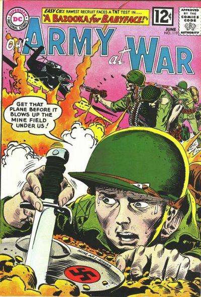 Cover for Our Army at War (DC, 1952 series) #119