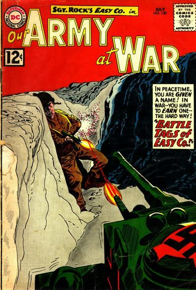 Cover for Our Army at War (DC, 1952 series) #120