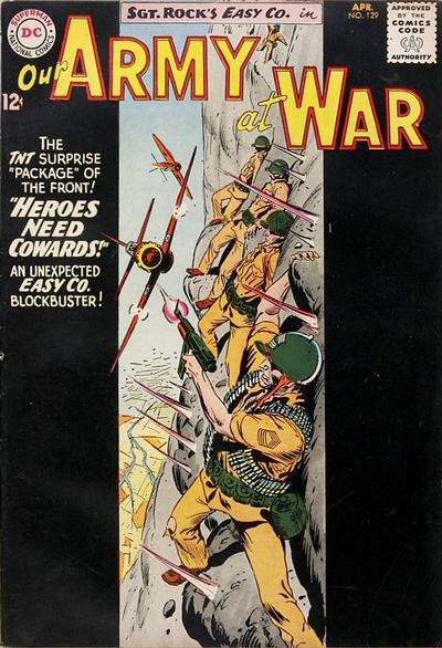 Cover for Our Army at War (DC, 1952 series) #129