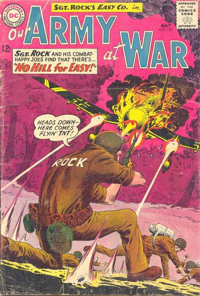 Cover for Our Army at War (DC, 1952 series) #130