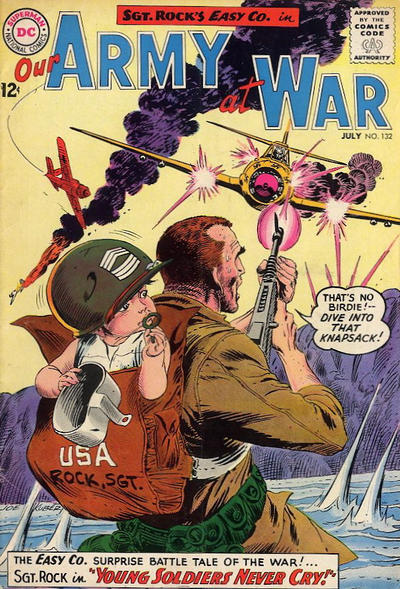 Cover for Our Army at War (DC, 1952 series) #132