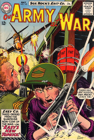 Cover for Our Army at War (DC, 1952 series) #142