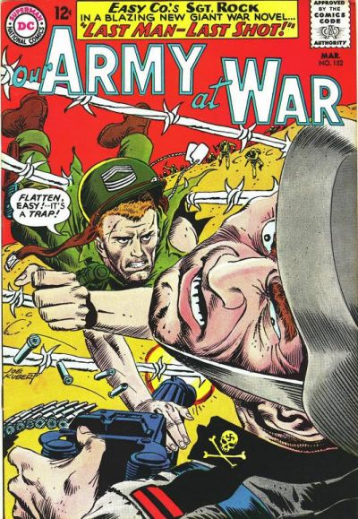 Cover for Our Army at War (DC, 1952 series) #152