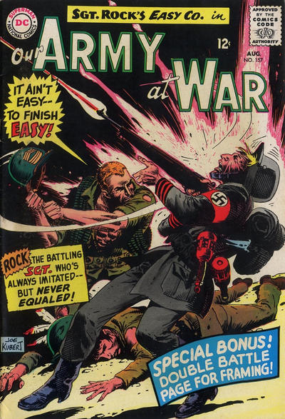 Cover for Our Army at War (DC, 1952 series) #157