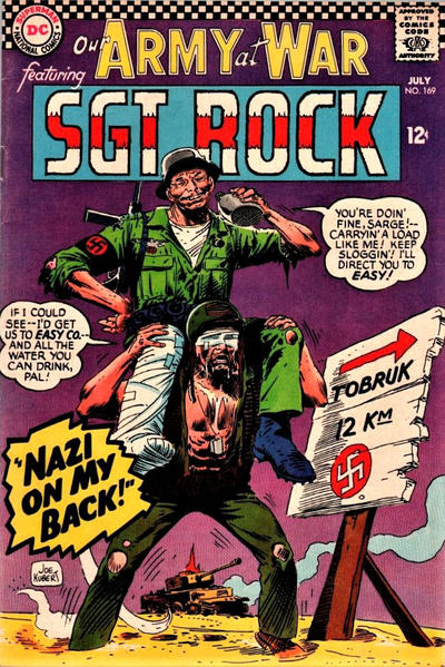 Cover for Our Army at War (DC, 1952 series) #169