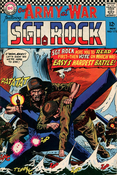 Cover for Our Army at War (DC, 1952 series) #173