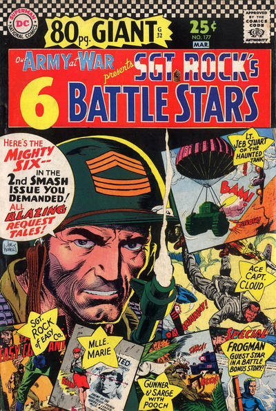 Cover for Our Army at War (DC, 1952 series) #177