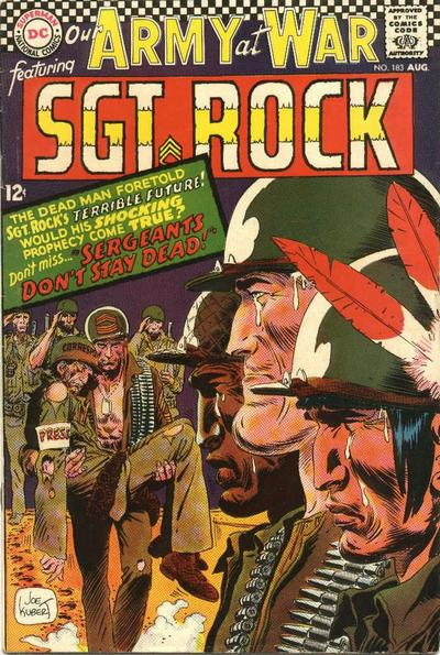Cover for Our Army at War (DC, 1952 series) #183