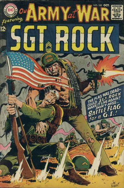 Cover for Our Army at War (DC, 1952 series) #185