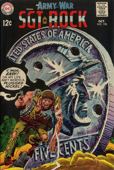 Cover for Our Army at War (DC, 1952 series) #198
