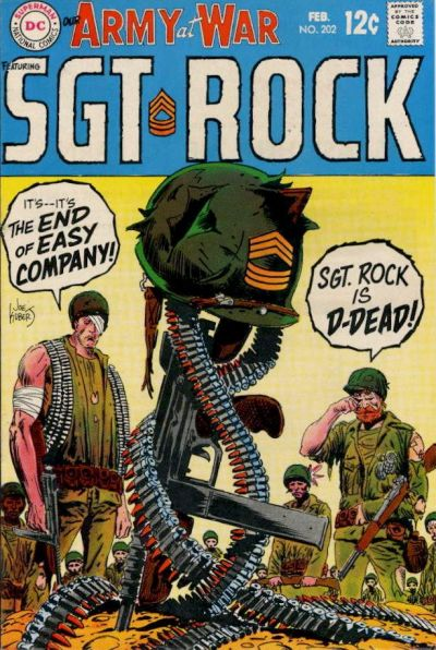 Cover for Our Army at War (DC, 1952 series) #202