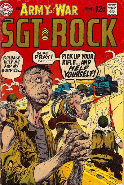 Cover for Our Army at War (DC, 1952 series) #207