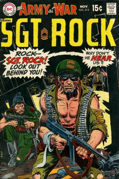 Cover for Our Army at War (DC, 1952 series) #212