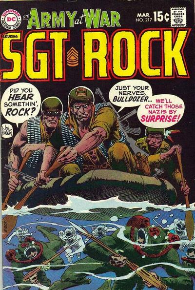Cover for Our Army at War (DC, 1952 series) #217