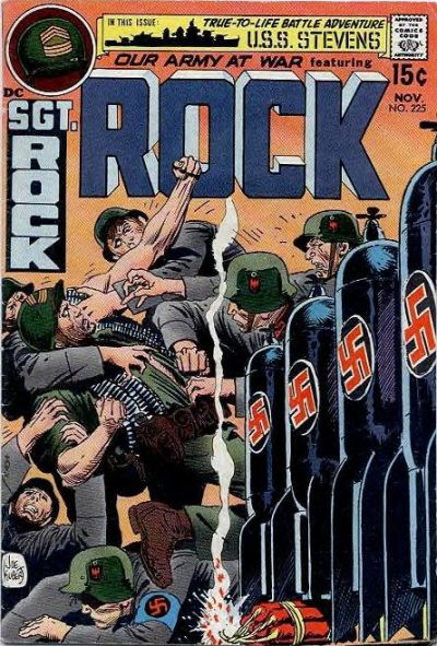 Cover for Our Army at War (DC, 1952 series) #225