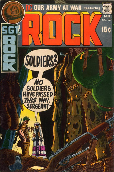 Cover for Our Army at War (DC, 1952 series) #227
