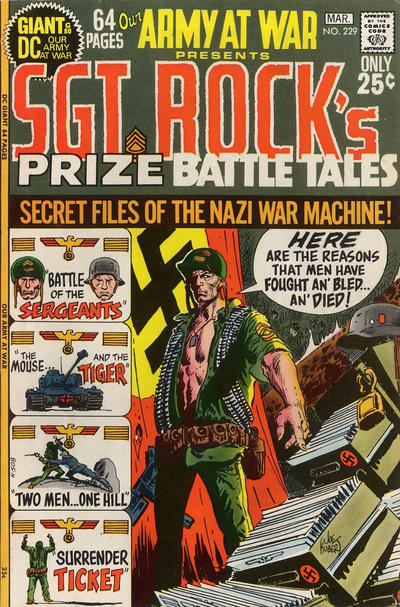 Cover for Our Army at War (DC, 1952 series) #229
