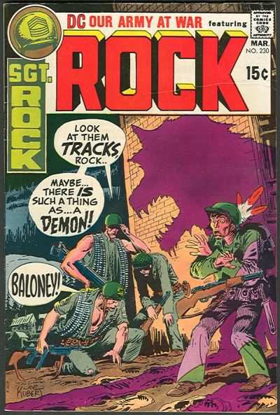 Cover for Our Army at War (DC, 1952 series) #230