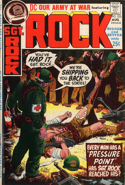 Cover for Our Army at War (DC, 1952 series) #235
