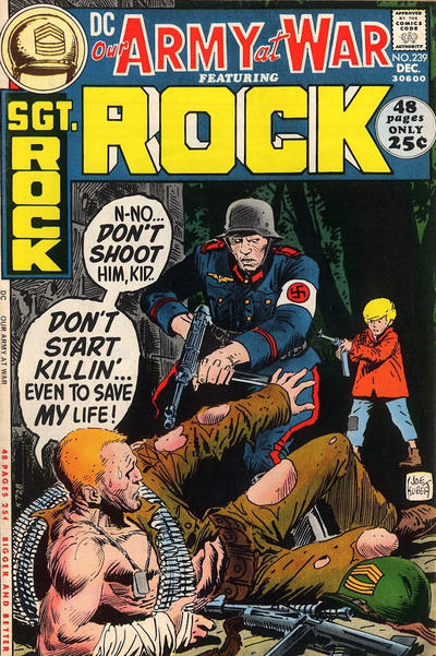 Cover for Our Army at War (DC, 1952 series) #239