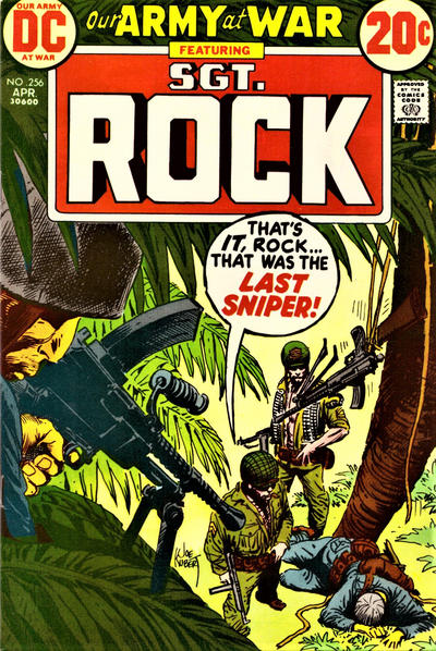 Cover for Our Army at War (DC, 1952 series) #256