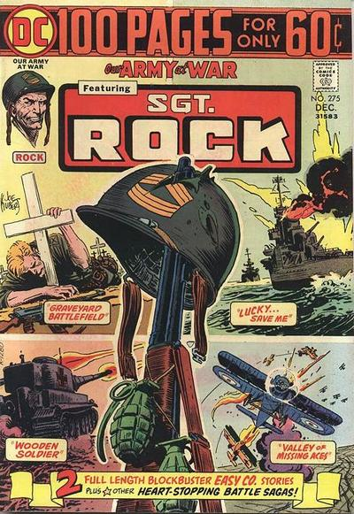 Cover for Our Army at War (DC, 1952 series) #275