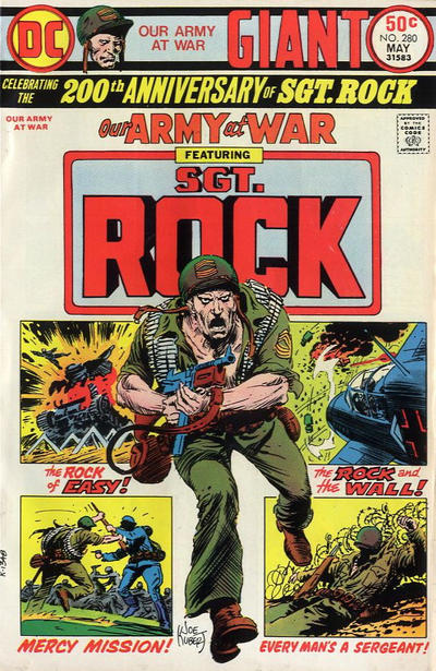 Cover for Our Army at War (DC, 1952 series) #280