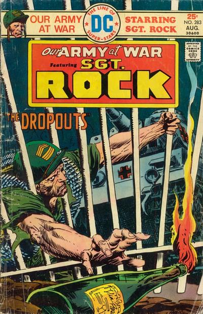 Cover for Our Army at War (DC, 1952 series) #283
