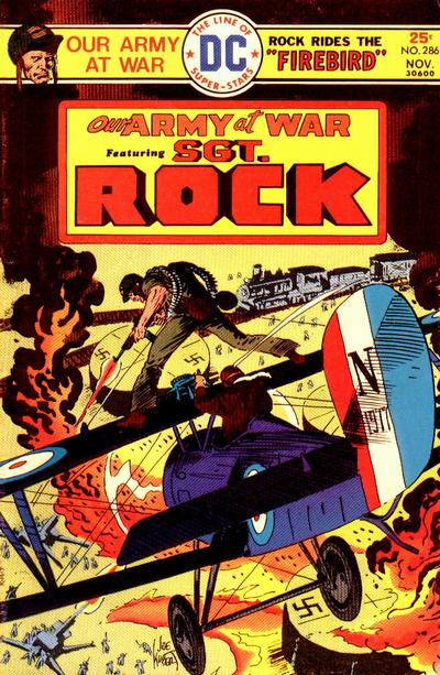 Cover for Our Army at War (DC, 1952 series) #286