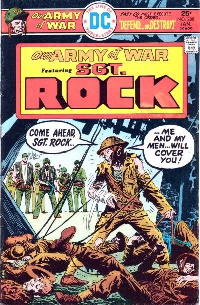 Cover for Our Army at War (DC, 1952 series) #288