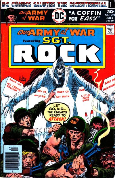 Cover for Our Army at War (DC, 1952 series) #294