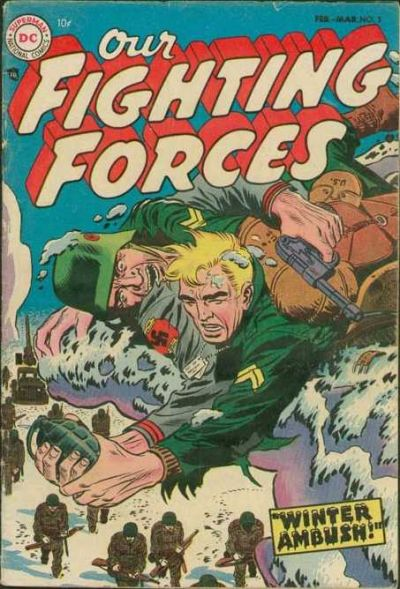Cover for Our Fighting Forces (DC, 1954 series) #3