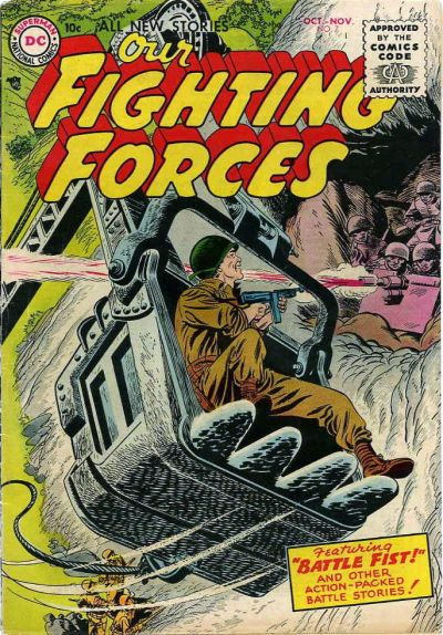 Cover for Our Fighting Forces (DC, 1954 series) #7