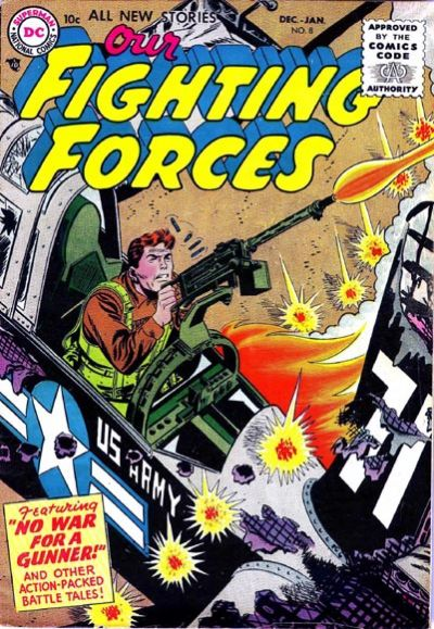 Cover for Our Fighting Forces (DC, 1954 series) #8