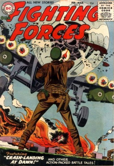 Cover for Our Fighting Forces (DC, 1954 series) #9
