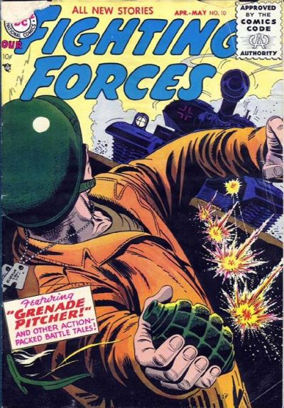 Cover for Our Fighting Forces (DC, 1954 series) #10
