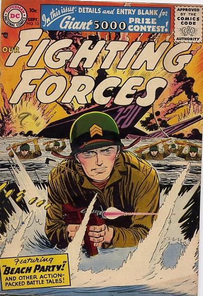 Cover for Our Fighting Forces (DC, 1954 series) #13