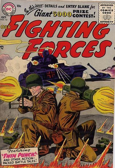 Cover for Our Fighting Forces (DC, 1954 series) #14