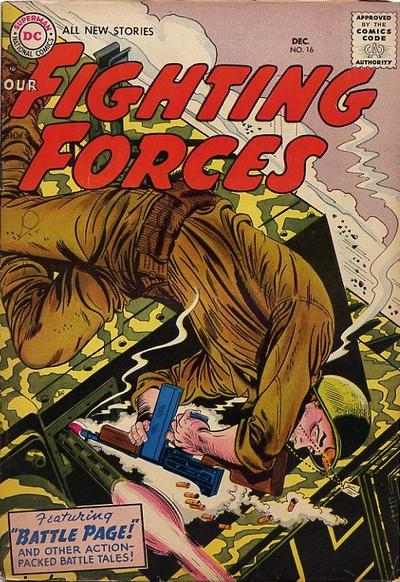Cover for Our Fighting Forces (DC, 1954 series) #16