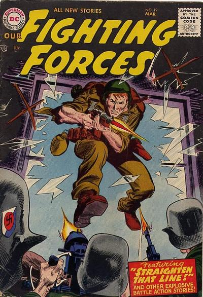 Cover for Our Fighting Forces (DC, 1954 series) #19