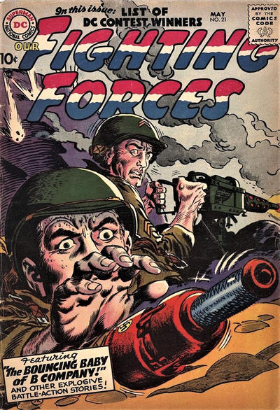 Cover for Our Fighting Forces (DC, 1954 series) #21