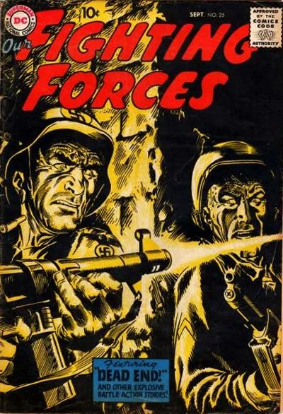Cover for Our Fighting Forces (DC, 1954 series) #25