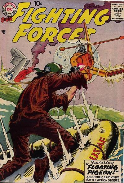 Cover for Our Fighting Forces (DC, 1954 series) #28